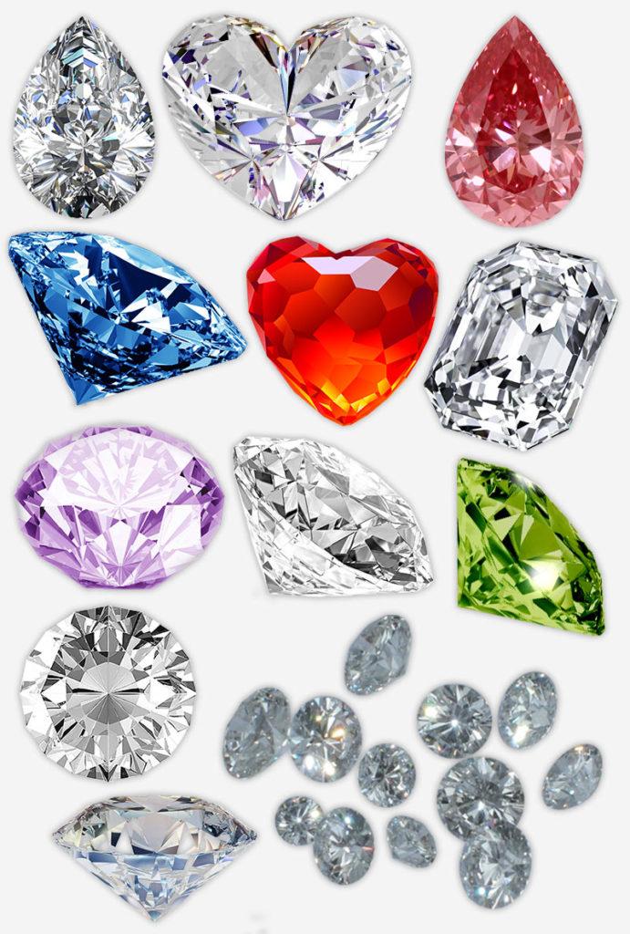 разнообразие смысловых алмазов