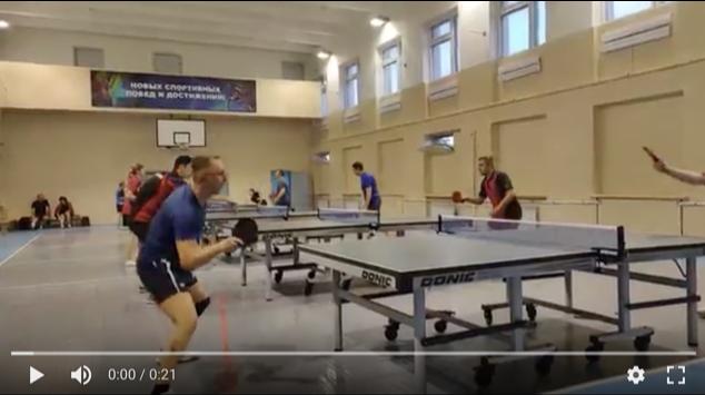 соревнования настольный теннис Калуга Кадви