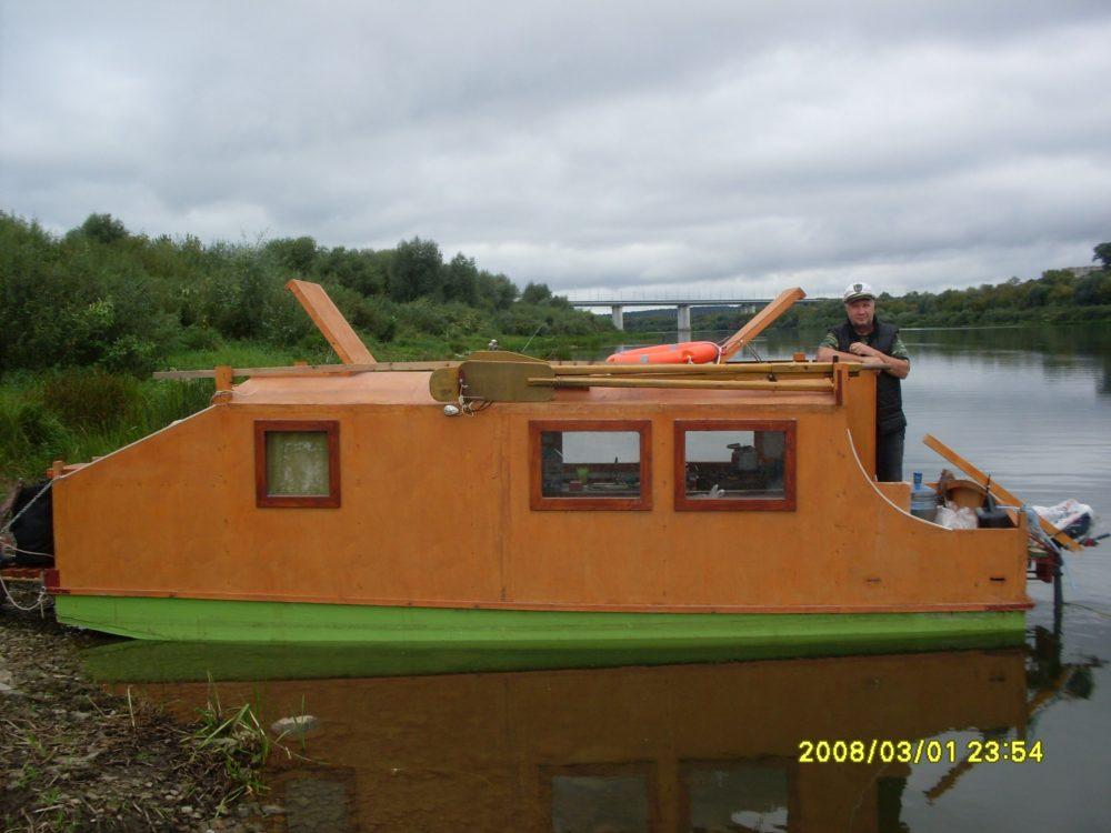 23082019 Катер-дом для семейного или компанейского отдыха на воде