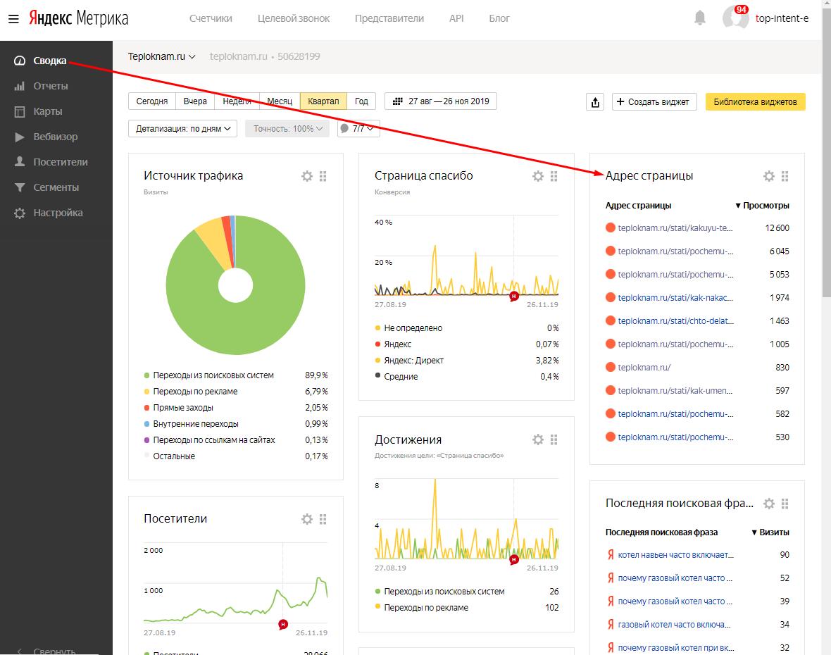 26112019 Рад до писка! Постиг дZен в Яндекс метрике