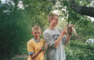2000: Трофейная щука на бредни с Лёхой