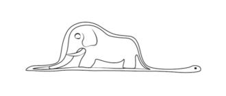 слон удав части